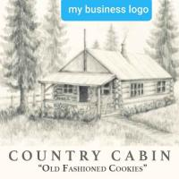 Country Cabin Old Fashion Cookies