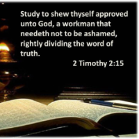 The Bible Rightly Divided