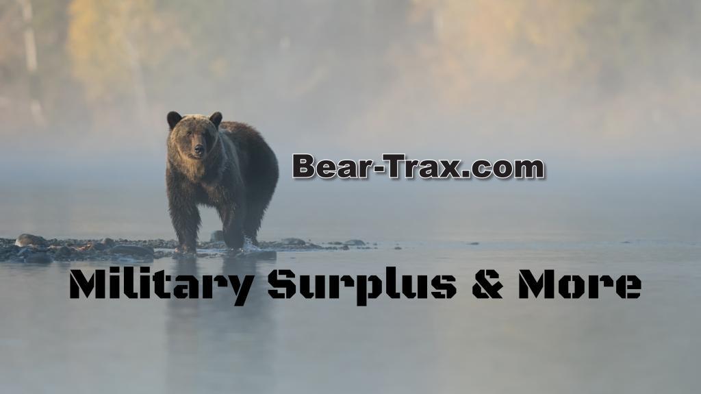 Grizzly bear stream Bear-Trax Military Surplus Dalton GA